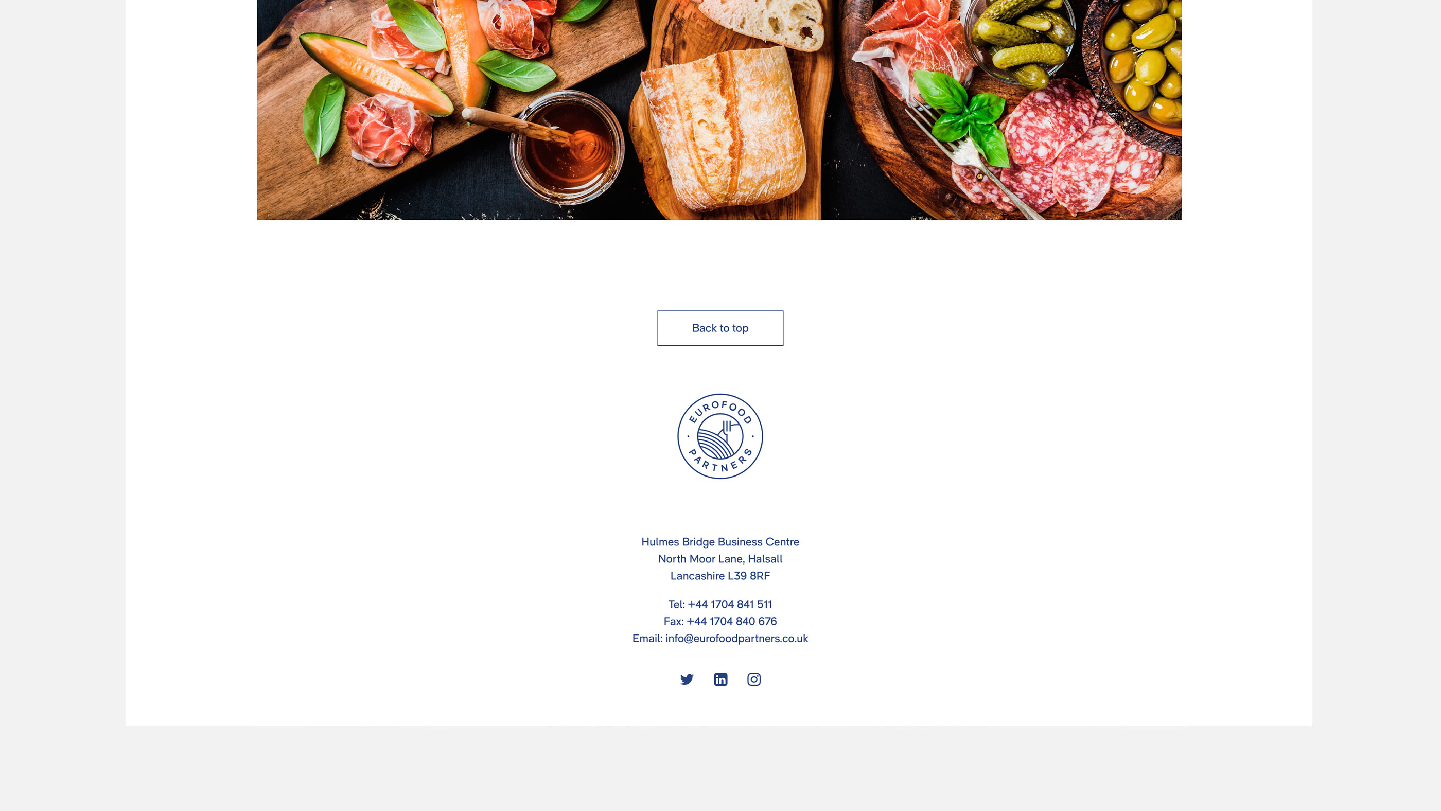 Eurofood Partners Ltd: Food industry branding