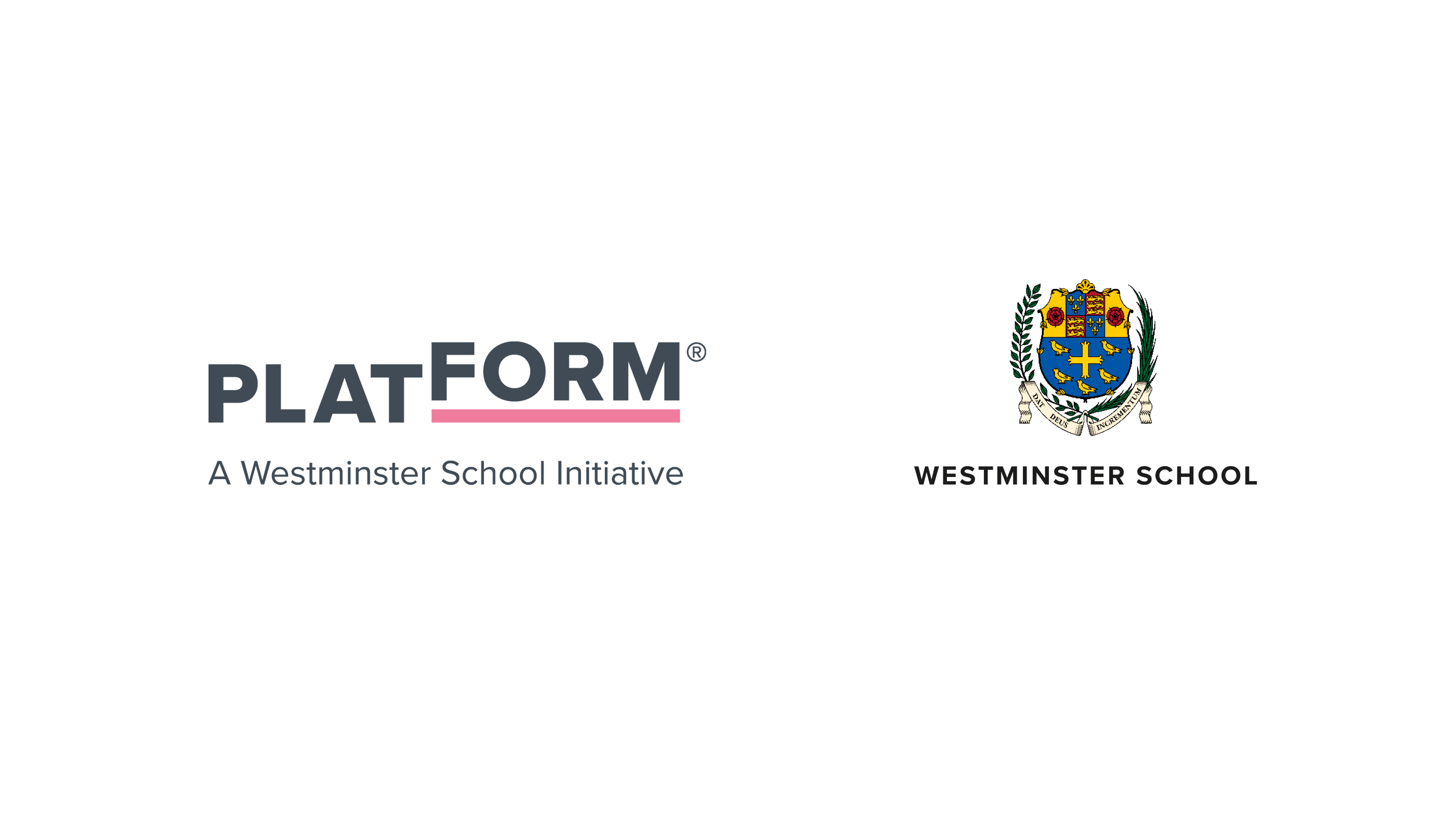 Platform logo and Westminster School brand identity